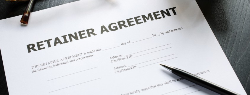 Retainer Agreement Photo